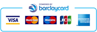 Payments processed securely with Barclays